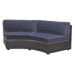 Replacement Cushions For Sleeper Sofa Small Corner Dfs Forever Patio Horizon Curved Wicker Cushion By Northcape International Shop