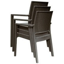 Compamia Ibiza Wicker Dining Chair Pair