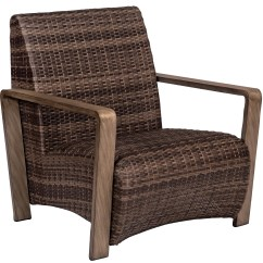 Wicker Lounge Chair Accent Living Room Chairs With Arms Whitecraft By Woodard Reynolds