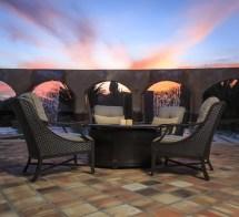 Sunvilla Somerset 5 Piece Wicker Conversation Set