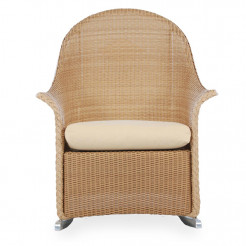 newport rocking chair indoor bistro table chairs panama jack beach sling wicker lloyd flanders highback full skirt