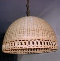 wicker.org - wicker swag lamp shade,rattan ceiling hanging ...