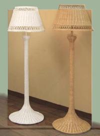 Wicker Floor Lamps | White Standing Lamp