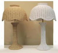 Wicker Table Lamps | Wicker Lamp Base