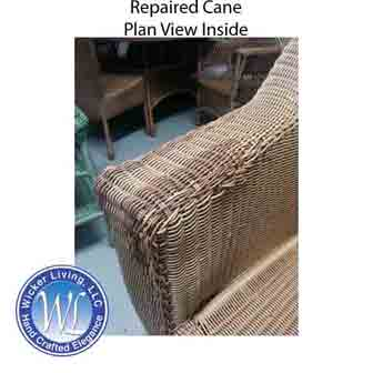 repair garden chairs single couch chair cover 10 steps to damaged wicker furniture reed replacing missing or repairing