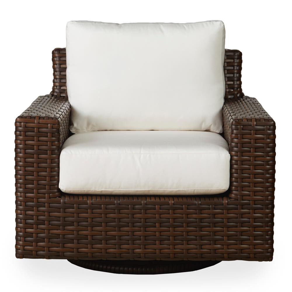 lloyd flanders contempo outdoor swivel glider lounge chair