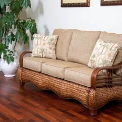 Cheap Fabric Sofa Singapore Brewster Key Largo Sienna Finish Wicker One Imports Your