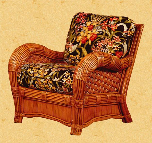 Jamaica Natural Rattan Lounge Chair