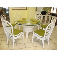 Rattan Table And Chairs Chrome Kitchen Dining Sets Savannah 54 Round Natural Set