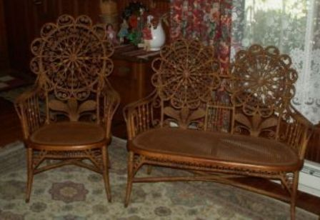 antique wicker chairs swing chair amsterdam furniture appraisals wondering what your is worth victorian set