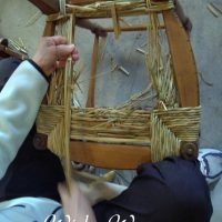 chair webbing repair metal and wood dining chairs cathryn's classes | antler baskets caning exhibitions
