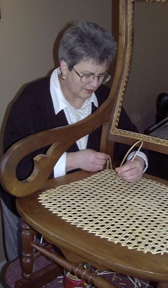 cane with chair ivory dining chairs canada caning instructions | how-to by hand