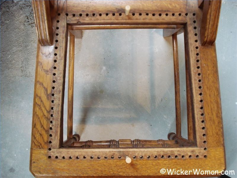 how to cane a chair sweet 16 ideas caning instructions chairs by hand step 1 find center holes in seat rails