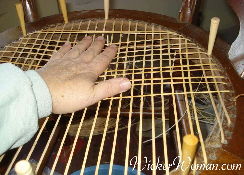 how to cane a chair eames used caning instructions chairs by hand checking tension