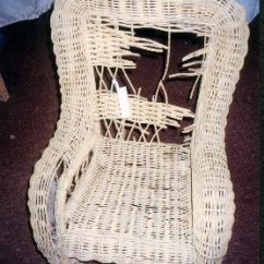 Childs Rattan Chair Bistro Table And Chairs Garden How To Repair A Child S Wicker Rocker Before Restoration