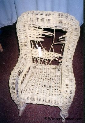 How-to Repair a Child's Wicker Rocker