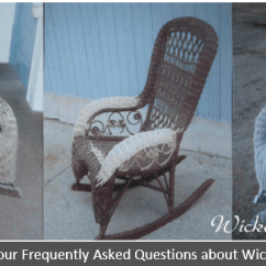 Antique Wicker Chairs Lounge Chair Bed Furniture 101 History Repair Tips