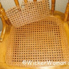 How To Cane A Chair Full Grain Leather Install Webbing Sheet Pressed Caning Color Matching Spline Sheeting