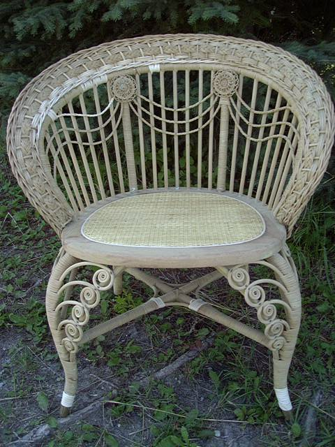 Antique Wicker Furniture 101History Repair Tips