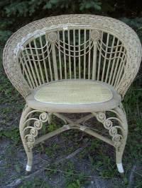 Antique Wicker Furniture #101--History, Repair, Tips
