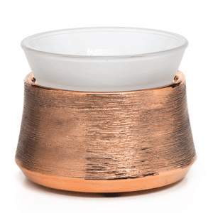 ETCHED COPPER WAX WARMER FROM SCENTSY