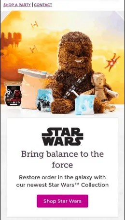 Star Wars Scentsy Collection Leaked