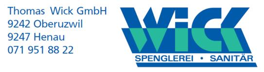 Spengler und Sanitär in Oberuzwil SG und Henau SG
