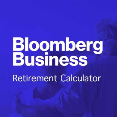 Bloomberg Business Retirement Calculator