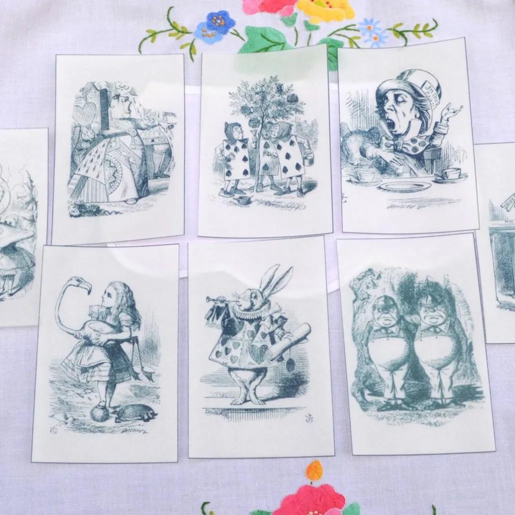 Wickstead's-Eat-Me-Edible-Black-&-White-Alice-in-Wonderland-Illustrations-x-8-(5)