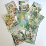 Set 3 Alice Through the Looking Glass