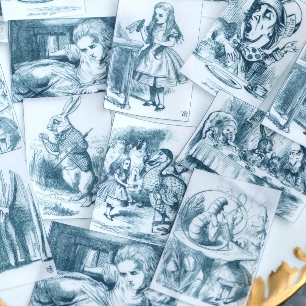 Wickstead's-Eat-Me-Edibles-Alice-in-Wonderland-Black-White-Set-1-Med-Wafer-Paper-Rec-(3)