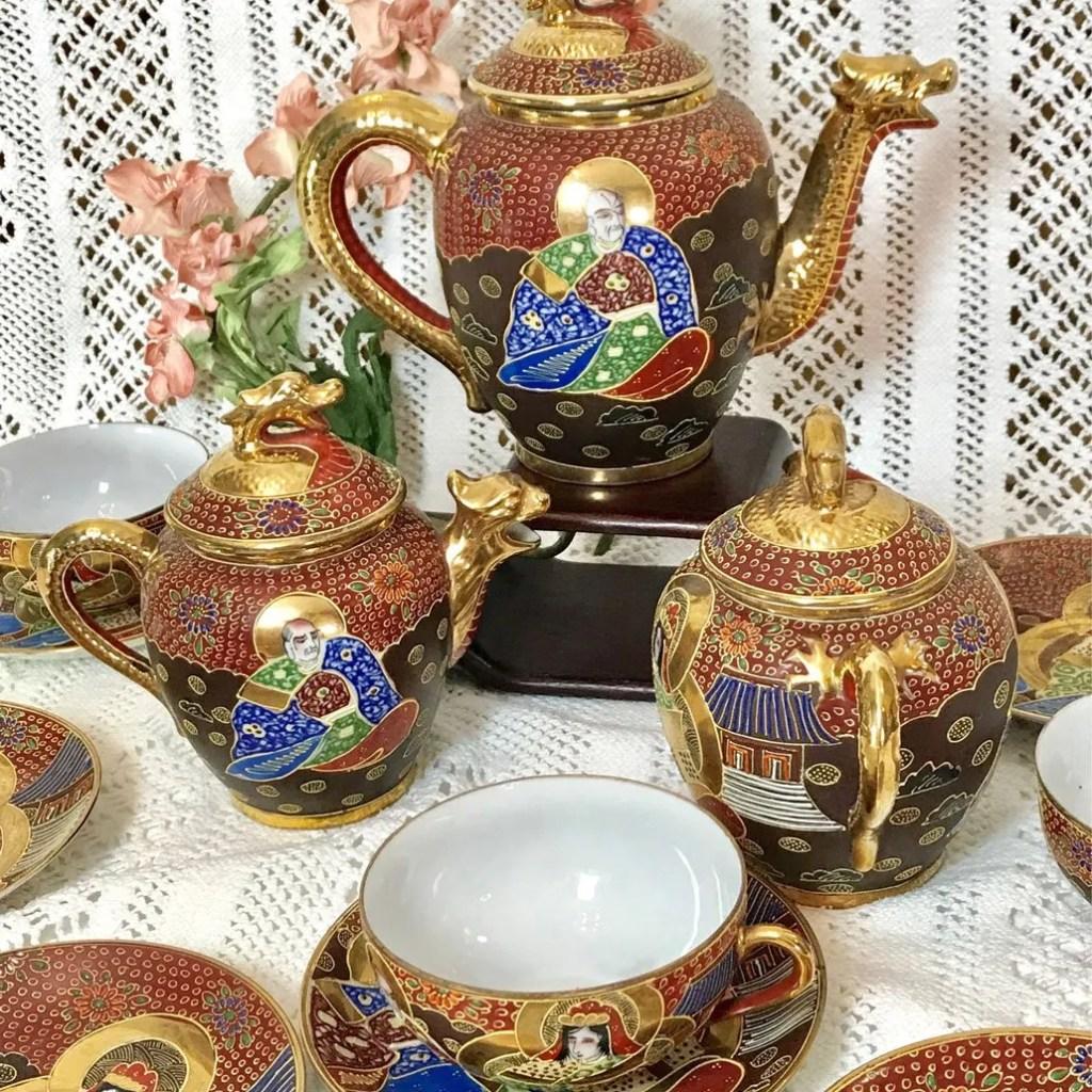 Wickstead's-Japanese-Red-Gold-Dragon-Moriage-Fine-Eggshell-Porcelain-Tea-Set-(7)