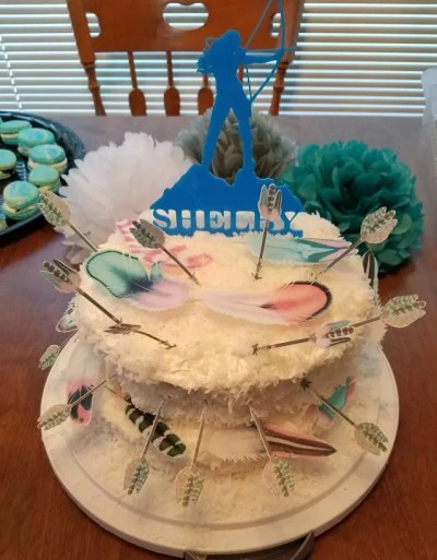 Wickstead's-Customer-Photo-of-our-Edible-Cotton-Candy-Feathers-&-Arrows-(1)