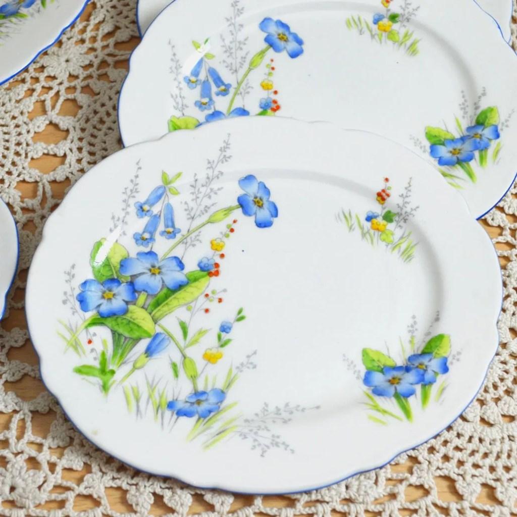 Wickstead's–Home-&-Living–Paragon-Blue-Primerose-Plates-(5)