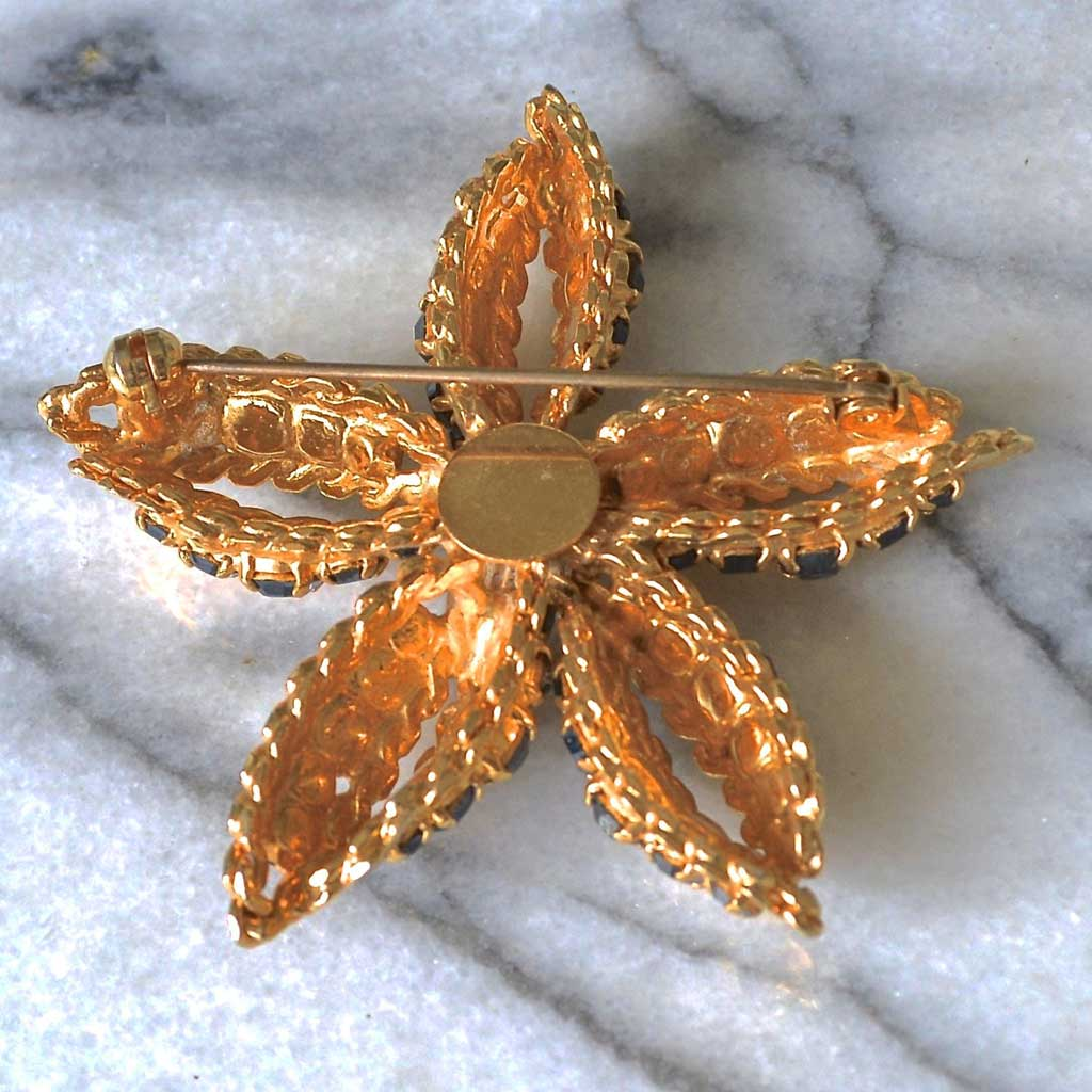 Wicksteads-Jewels-and-Treasures–Vintage-Jewellery-Brooch-Star-Flower-(2)