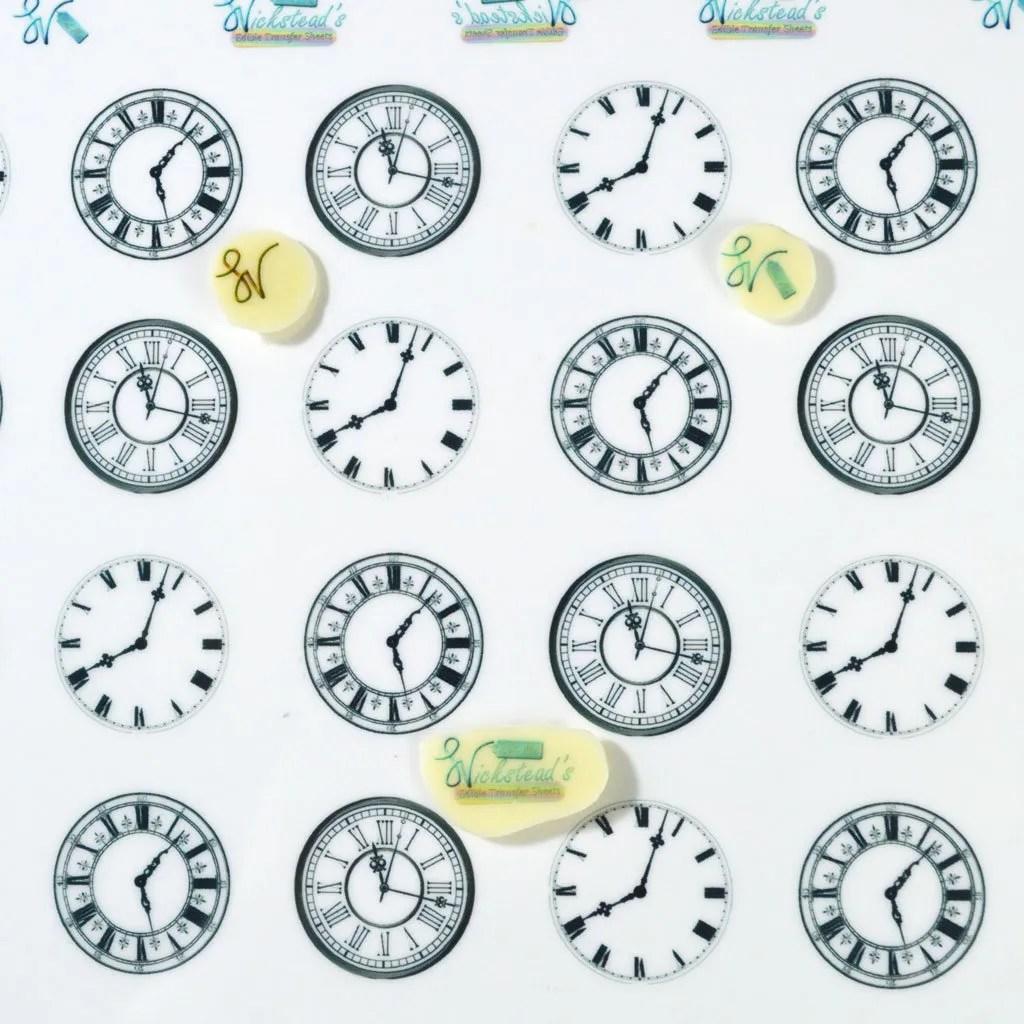 Wickstead's-Eat-Me-Edible-Meringue-&-Chocolate-Transfer-Sheets-Clock-Faces-(1)