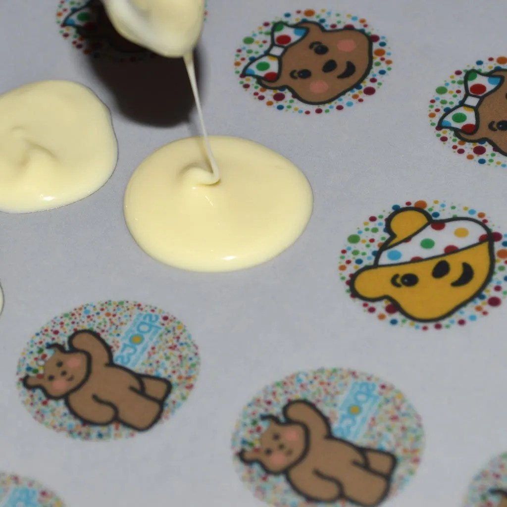 Wickstead's-Eat-Me-Edible-Meringue-&-Chocolate-Transfer-Sheets–Pudsey-&-Blush-Children-in-Need-Charity-Characters-Spots-(4)