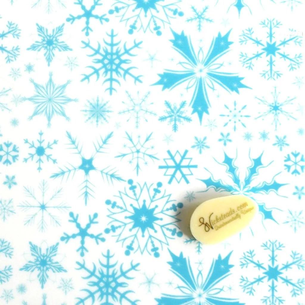 Wickstead's-Eat-Me-Edible-Meringue-&-Chocolate-Transfer-Sheets–Winter-Wonderland-Blue-Frozen-Ice-Snowflakes-Chintz-(1)
