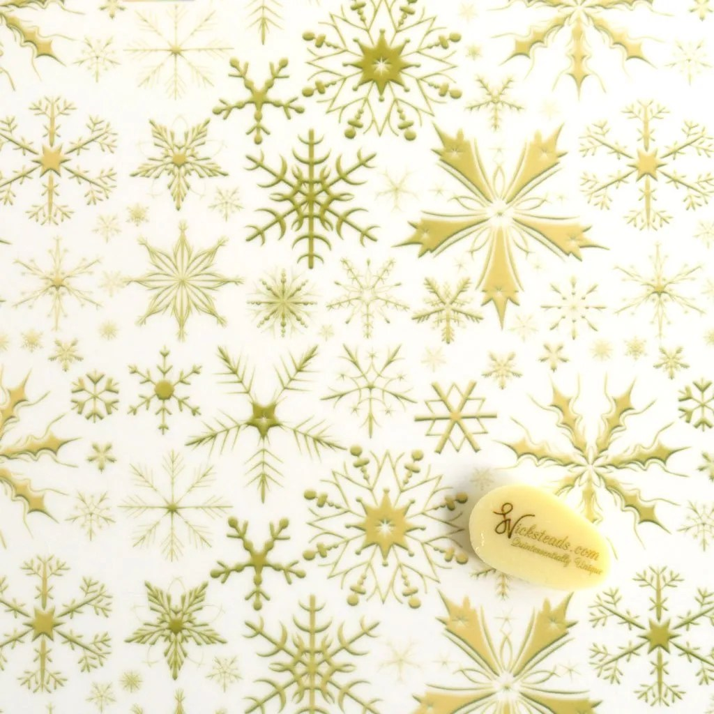 Wickstead's-Eat-Me-Edible-Meringue-&-Chocolate-Transfer-Sheets–Winter-Wonderland-Golden-Frozen-Ice-Snowflakes-Chintz-(1)