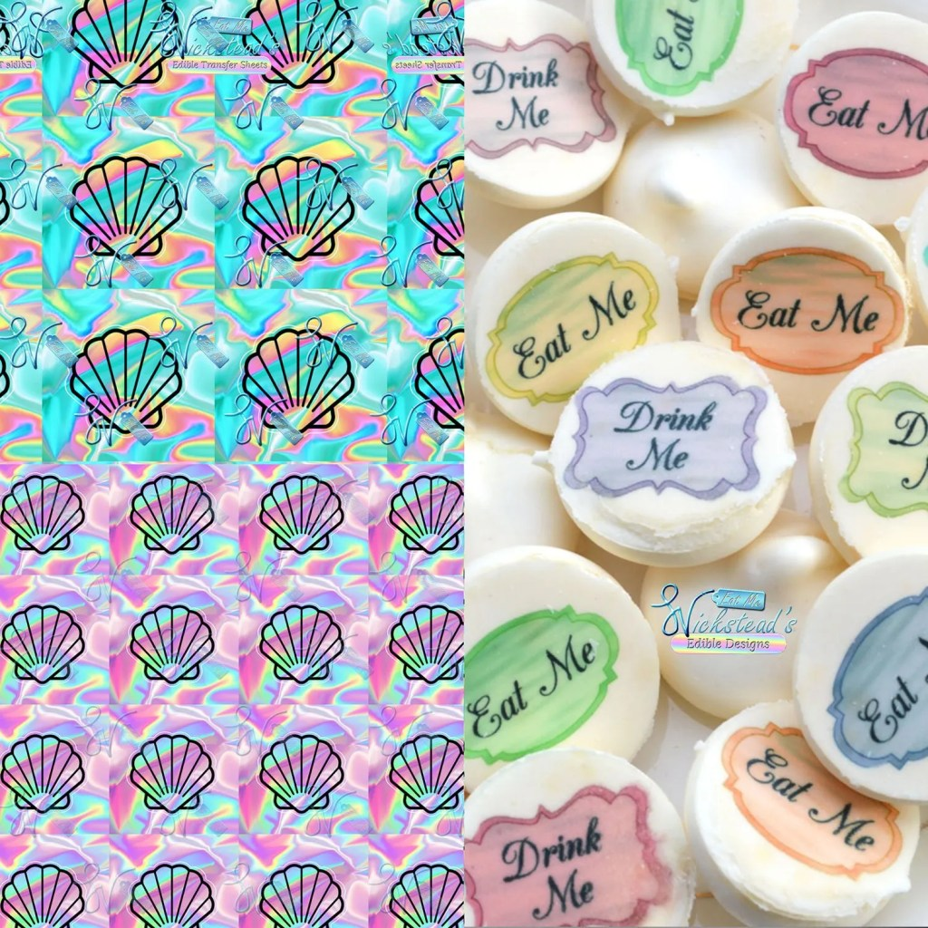 Wickstead's-Eat-Me-Edible-Meringue-Transfer-Sheets–Holographic-Seashells-(1)