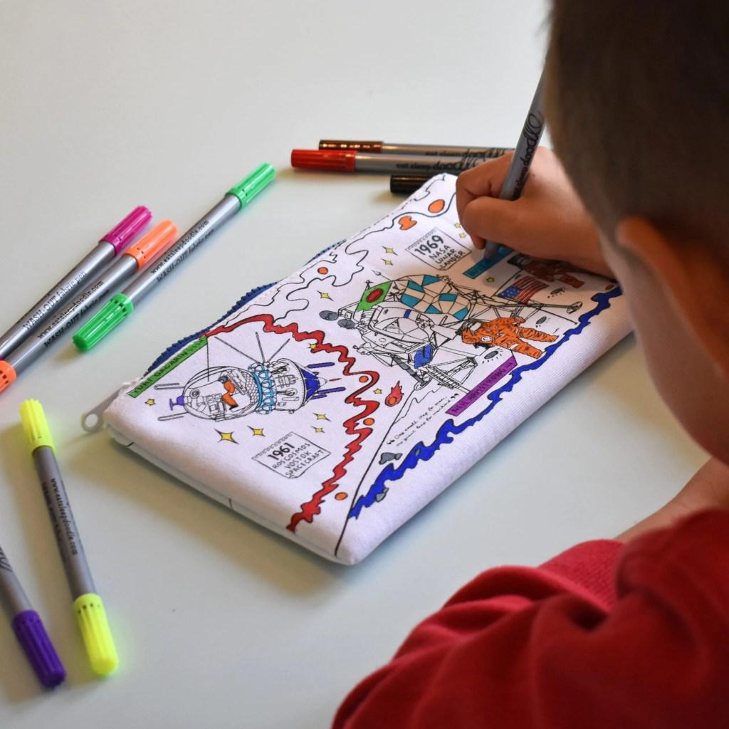 SPPEN space explorer pencil case lifestyle 4