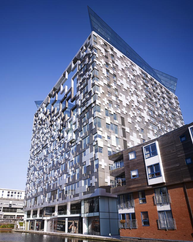 The Cube is unveiled  the largest UK application of