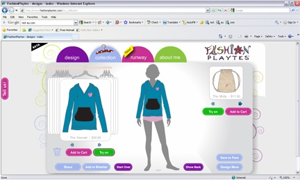 Fashion Playtes Screenshot