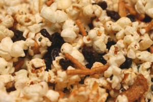 California Raisins Five-Sice Popcorn Snack Mix