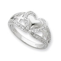 Celebrate Your Faith Pure Heart Ring