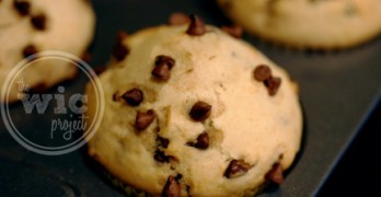 Mix Master Miriam vs. Chocolate Chip Muffins (Recipe)