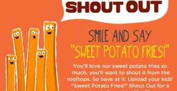 Ore-Ida Sweet Potato Fry Shout Out Sweepstakes & Giveaway