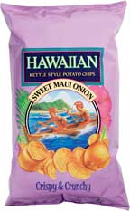 Hawaiian Kettle Style Chisp Sweet Maui Onion
