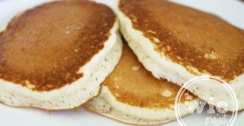 Mix Master Miriam Vs. Buttermilk Pancakes (Recipe)