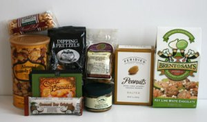Gourmet Gift Basket Snacks